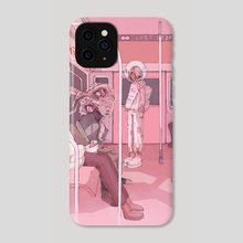 The Commute - Phone Case by Paskalina Kinanthi