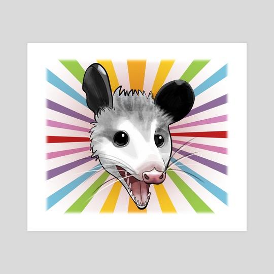 Awesome Possum by Claudie C.Bergeron