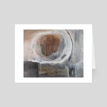 THE CIRCLE #1 - Art Card by Lane Lenhart