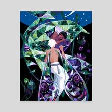 kaleidoscope 1 - Canvas by Perci
