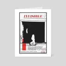 """Invisible"" - Art Card by Kenneth Thomas"