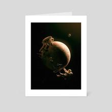 Gravity Play - Art Card by Nicebleed