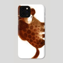 Spotted Hyena - Phone Case by Melissa  van der Paardt