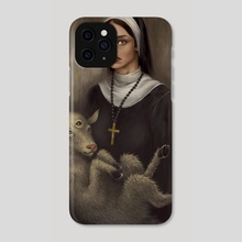 The Ballad of Sister Anette Part 2 - Phone Case by Agung Wahyu Setiawan