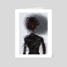 shadowy - Art Card by Hannah