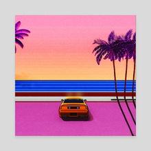 Horizon - Canvas by Artful Vista