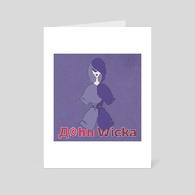 John Wicka - Art Card by Vogdux Sergik