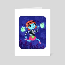 Wendy - Art Card by Tyler Parker