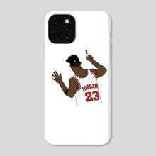 MJ 6 fingers  - Phone Case by Austin Harper