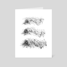 decay - Art Card by Lilla Ivanich