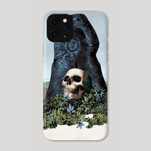 Skull Shrine - Phone Case by Goran Gligović