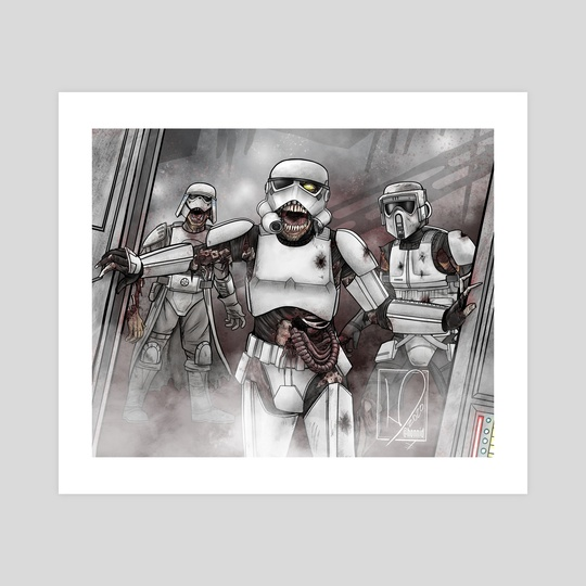 Death Troopers by Honni David