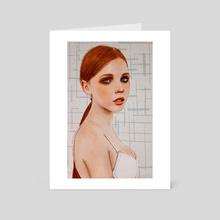 Copper - Art Card by Rick van de Moosdijk