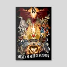 Steven M. Scherp Poster - Acrylic by Elijah Buckout