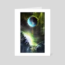 Artificial Descent - Art Card by Jesse Doyle
