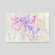 Abstract Painting - Daylight Filtered Through the Window - Acrylic by Bridget Garofalo
