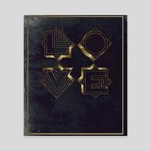 L-O-V-E - Canvas by Adolfo Enriquez