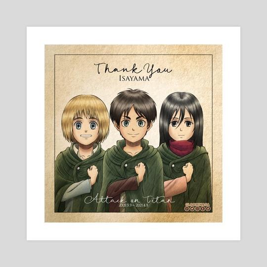 Thank You, Isayama. by Gloomi