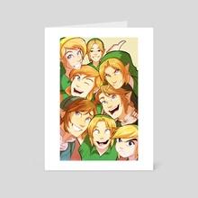 Hero Selfie - Art Card by Ana Rui