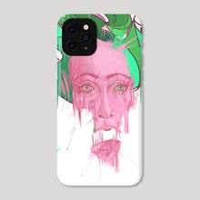 Melting in colors - Phone Case by German Butze