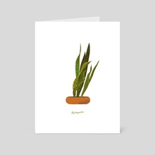 House Plants 2 - Art Card by Leyton Parker