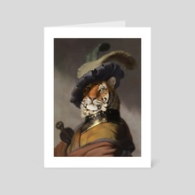 Fancy Tiger - Art Card by Matt Ramsey