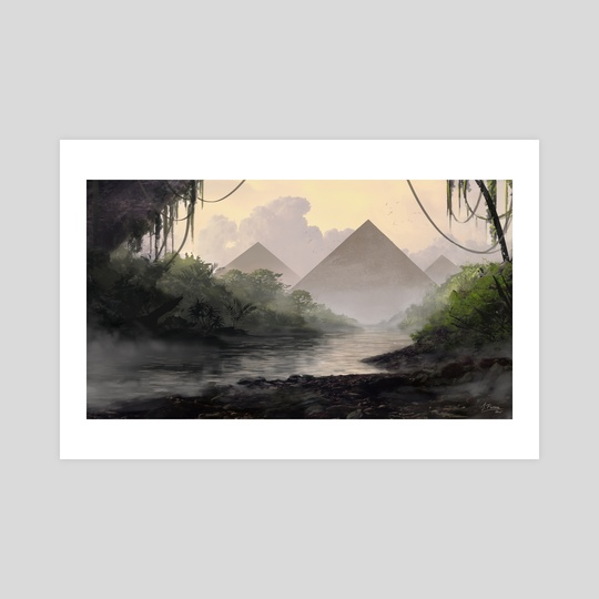 Jungle Pyramid by Jon Pintar
