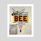Just Bee You - Art Print by Krista Allenstein