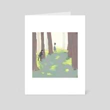 coming home - Art Card by Gabi Zuniga