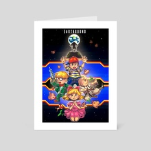 Welcome to Earthbound - Art Card by Agnes M