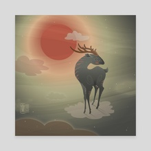 Dear ancestor - Canvas by Tereza Bird