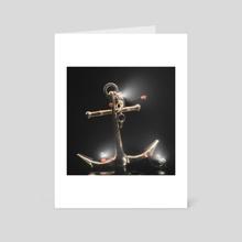 opposite day - Art Card by robin mikalsen