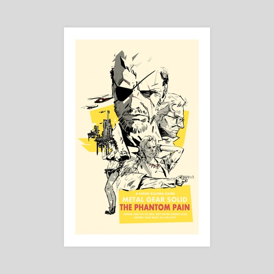 Phantom Pain by Hayden Sherman