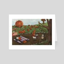 The Great Pumpkin - Art Card by Rayne  Karfonta