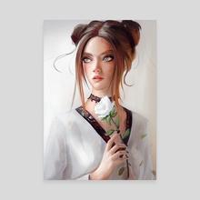 Flower - Canvas by Nixri ★
