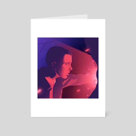 Stranger Things Eleven by Anna Kuptsova