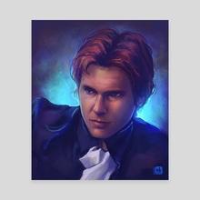 Han Solo - Canvas by Neleilis