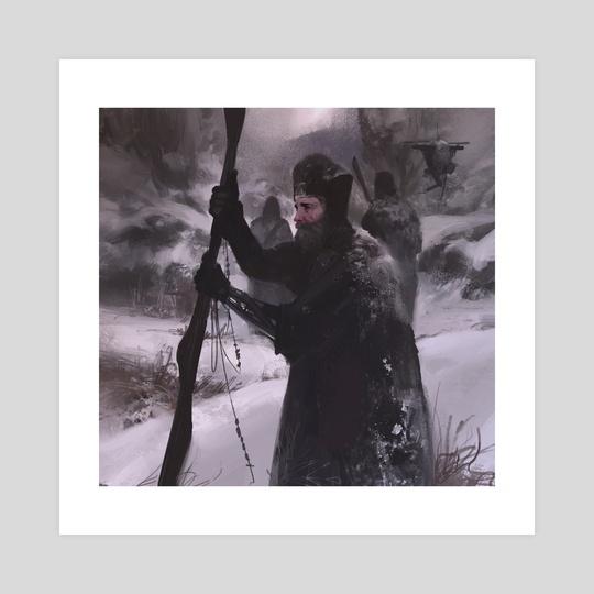 Pilgrim by Tomas Muir