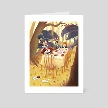 Mad tea party - Art Card by Miru