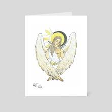 Heavenly - Art Card by Cassandra Tan-Torres