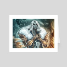 White Wolf - Art Card by Ezy DS ★