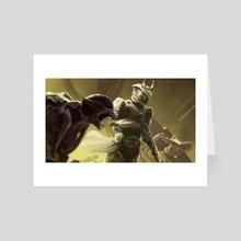 Shadow Titan - Art Card by Gammatrap