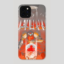 Metroid - Phone Case by GEORGE SCHALL