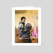 Marooned - Art Card by Carlos Contreras