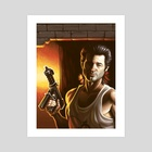 Jack Burton Study - Art Print by Frenden