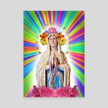 OUR FAIR LADY - Canvas by Gloria Sánchez