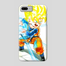 Going SSJ- Goten Kamehameha - Phone Case by MARK CLARK II
