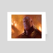 Thanos - Art Card by Pavel Sokov