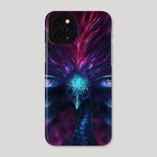 The all seeing peacock - Phone Case by Louis Dyer
