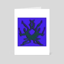 Falling 2  - Art Card by Solar Broccoli